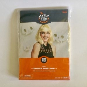 Hyde And Eek Boutique Adults Short Blond Bob Wig
